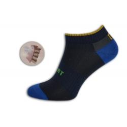 Kotníkové športové pánske ponožky