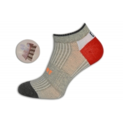 Perforované športové pánske ponožky
