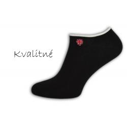 Luxusné čierne pánske ponožky