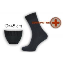 Bambusové zdravotné tm.sivé ponožky