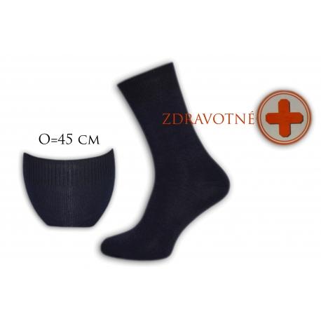 Bambusové zdravotné tm.modré ponožky