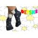 Bodkované detské ponožky z 90%bavlny