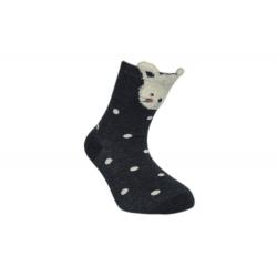 Od 8-20 mesiacov! Bodkované detské ponožky z 90%bavlny