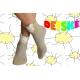 Pásikavé detské ponožky z 90%bavlny