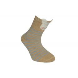 Od 8-20 mesiacov! Pásikavé detské ponožky z 90%bavlny