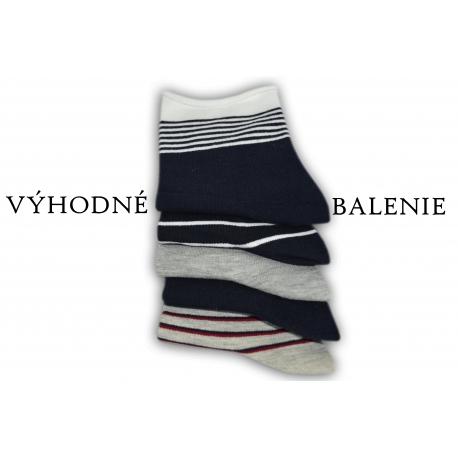 Dámske ponožky bez gumy. Výhodné 5 - balenie