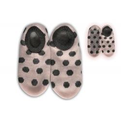 13566847c2d5 Bodkované staroružové dámske nízke papuče
