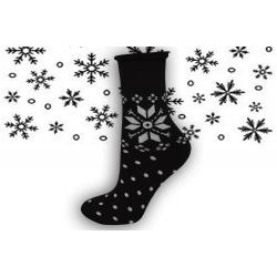 IBA 35-38! 98% bavlnené zdravotné teplé ponožky