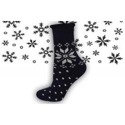 98% bavlnené zdravotné termo ponožky s vločkou