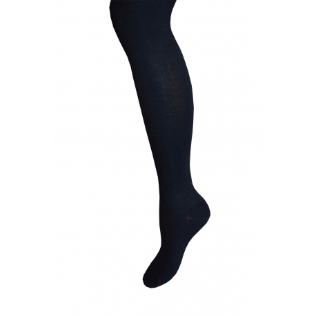 90%bavlny! Čierne dievčenské pančuchy