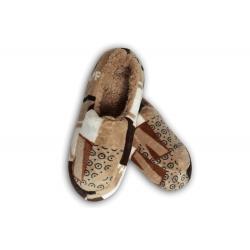 Papuče pre muža s gumenou podrážkou