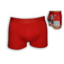 Pánske vianočné boxerky s mikulášom