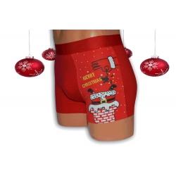 Vianočné boxerky s Mikulášom