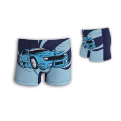 Detské 95%-né bavlnené boxerky s autom