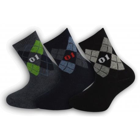 Chlapčenské teplé ponožky za super cenu
