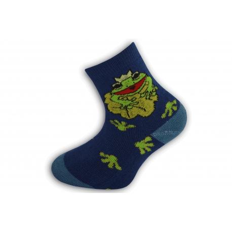 Termo ponožky pre deti so žabkou