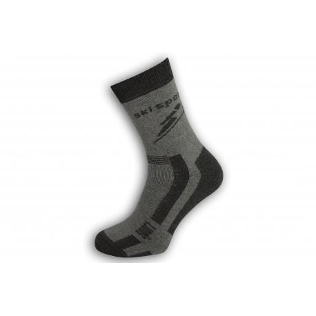 Antibakteriálne športové ponožky na lyžovanie
