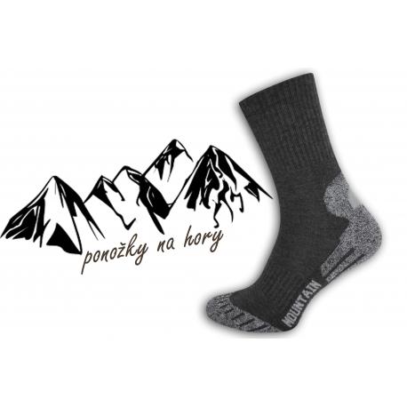 Pánske športové ponožky na turistiku