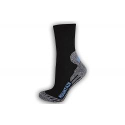 Dámske športové ponožky na turistiku - modré