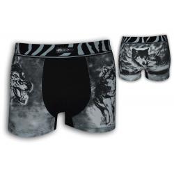 Bavlnené boxerky s vlkmi