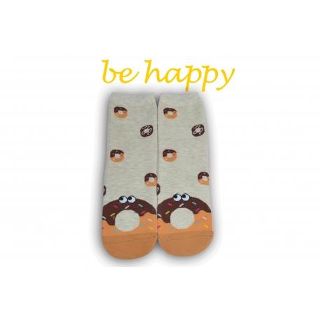Veselé ponožky s donutkou
