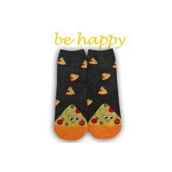 Veselé ponožky s pizzou