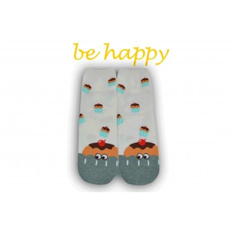 Veselé ponožky s muffinom