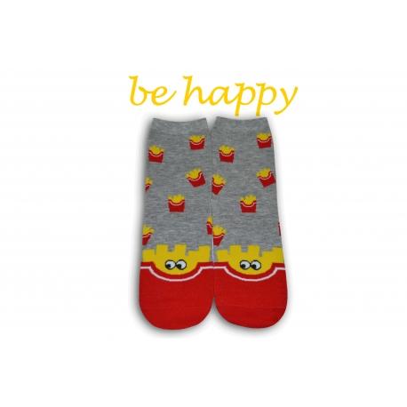 Veselé ponožky s hranolkami