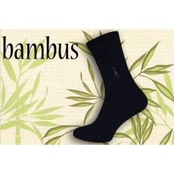 IBA 43-46! Modré bambusové pánske ponožky