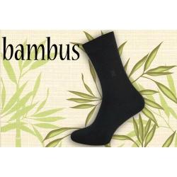 IBA 43-46! Obľúbené antracitové bambusové ponožky s jemným vzorom