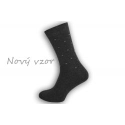 Pánske ponožky s jemným vzorom