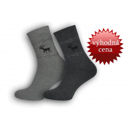 Výhodné dvoj-balenie bambusových teplých ponožiek