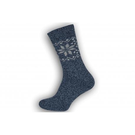Super teplé pánske ponožky z vlny