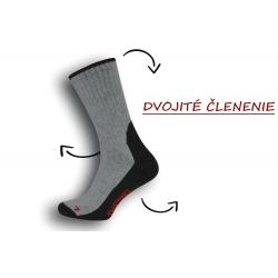 IBA 39-42! Funkčné sivé pánske ponožky