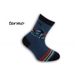 Chlapčenské hrubé pohodlné termo ponožky