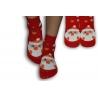 Detské ponožky s veselým obrázkom Mikuláša