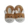 Zlaté nízke detské papuče s obrázkom