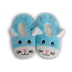 IBA 28-31! Modré nízke detské papuče s obrázkom