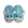 Modré nízke detské papuče s obrázkom