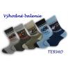 Teplé detské ponožky - výhodné 5-balenie