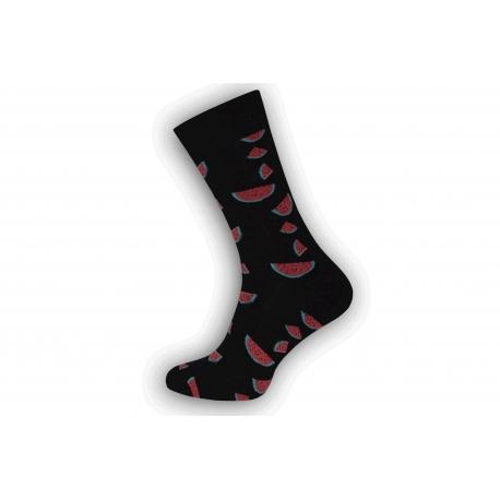 Vzorované pánske ponožky s melónmi