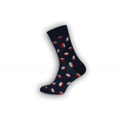 CUKRÍKY. Vzorované pánske ponožky