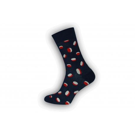 Vzorované pánske ponožky s cukríkmi