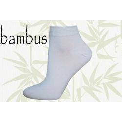 IBA 39-42! KVALITNÉ! Biele bambusové ponožky