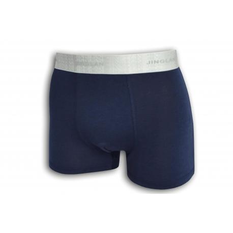 Modré pánske boxerky z 95% bavlny