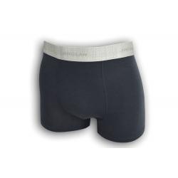 Pánske boxerky so striebornou gumou