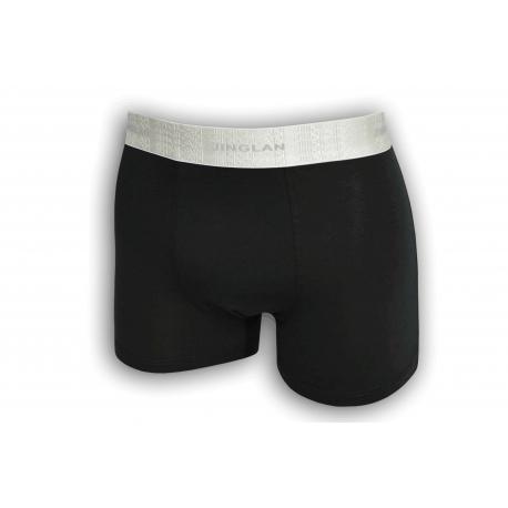Čierne pánske boxerky z 95% bavlny