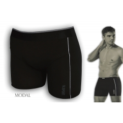 Exkluzívne čierne boxerky z modalu