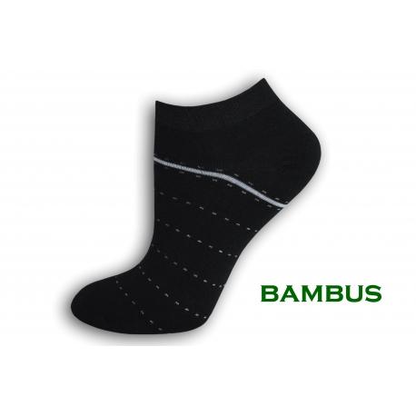 Dámske bambusové kotníkové ponožky