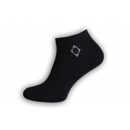 Jedinečné bambusové ponožky - čierne